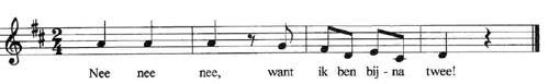 bladmuziek bijna twee