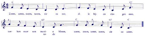 bladmuziek_bijtje_zoem