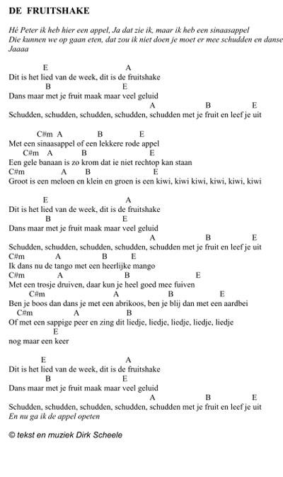 bladmuziek_de_fruitshake