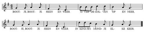 bladmuziek Eetliedje