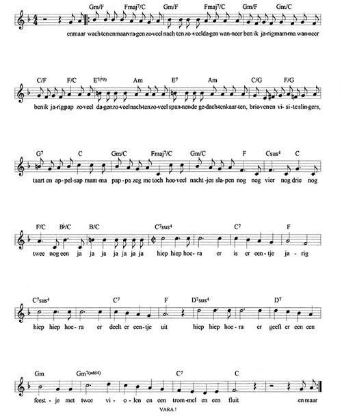 Vaak Kinderen Voor Kinderen Bladmuziek @RNP46 - AgnesWaMu #TG65