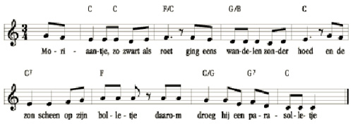 bladmuziek moriaantje