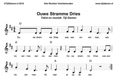 bladmuziek stramme dries