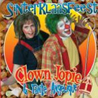 Clown Jopie & Tante Angelique - Sinterklaasfeest