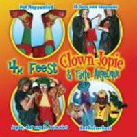 clown jopie 4x feest