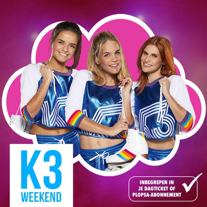 Bliksemactie: We verloten 4 kaartjes K3 Whoppa Weekend in Plopsa Indoor Coevoorden