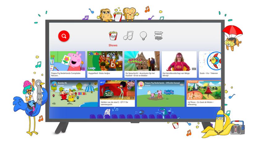 YouTube Kids nu in Nederland beschikbaar
