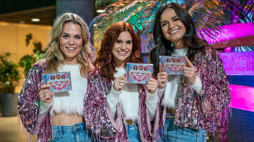 K3 lanceert nieuw album Dromen bij Radio 538